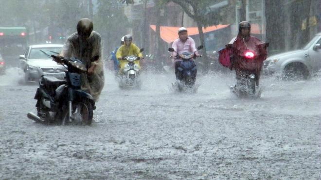 Dự báo thời tiết ngày 24/6: Cảnh báo ngập lụt cho khu vực Hà Nội 1