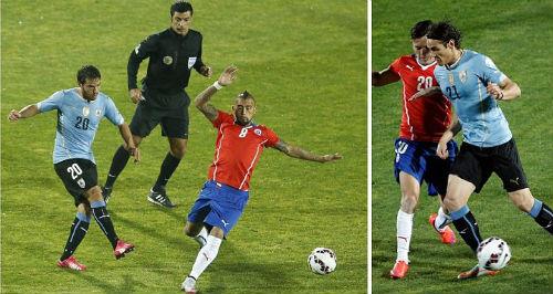 Chile 1-0 Uruguay: Uruguay thất thế trước chủ nhà Chile 1