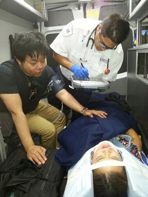 Xe Lexus chở Quang Lê gây tai nạn ở Sapa 3