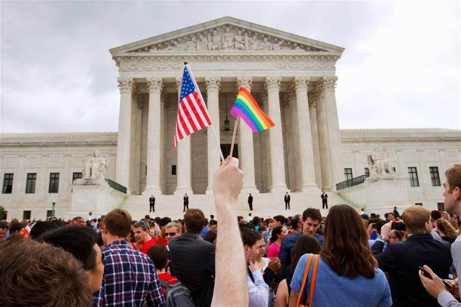 Hình ảnh Mỹ: Chính thức hợp pháp hóa hôn nhân đồng giới trên cả nước số 2