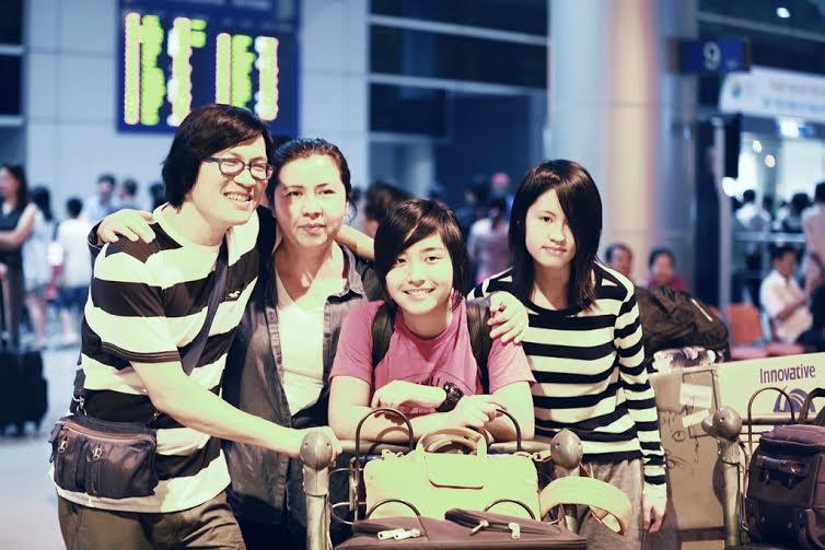 Gia đình Phương Thảo - Ngọc Lễ rạng rỡ tại Việt Nam 3