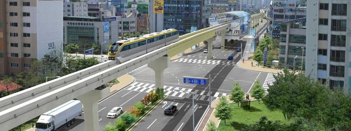 Hình ảnh Nước ngoài có xây đường sắt trên cao uốn lượn như ở Việt Nam? số 4