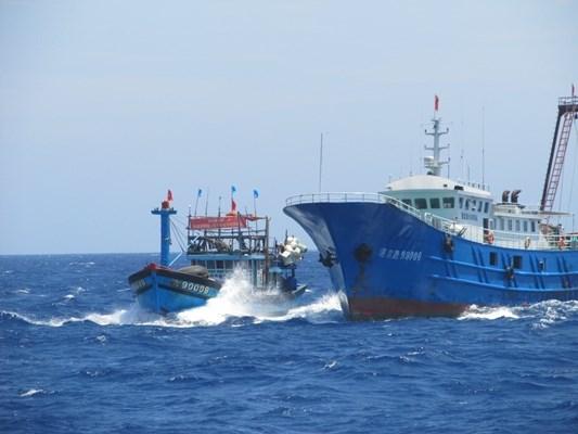 23 tàu cá, 316 ngư dân Quảng Ngãi bị Trung Quốc uy hiếp, tấn công 1