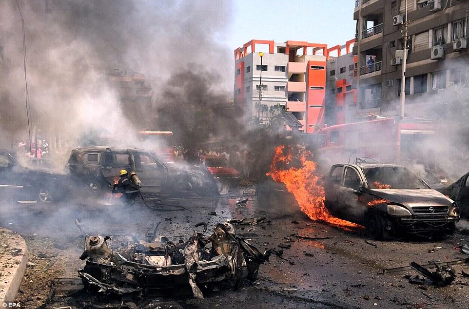 IS tung video ám sát 3 thẩm phán Ai Cập ngay giữa phố 1