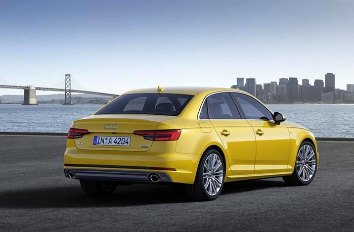 Audi A4 thế hệ mới: tiết kiệm xăng, tiện lợi hơn 2