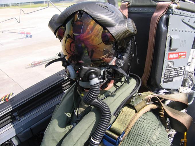 Khám phá công nghệ mũ bảo hiểm 8 tỉ đồng của phi công F-35 1