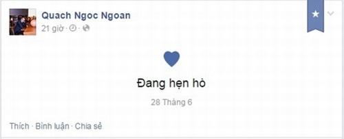 Quách Ngọc Ngoan chính thức công khai hẹn hò tình mới 1
