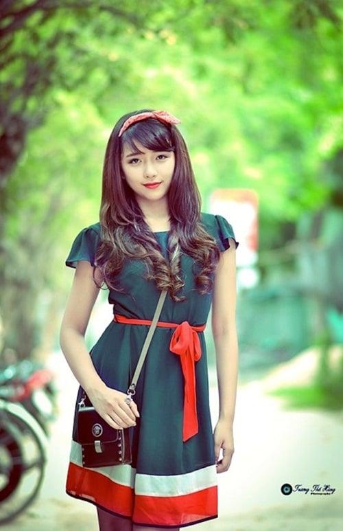 Ngắm 4 nữ sinh Việt xinh như thiên thần 8