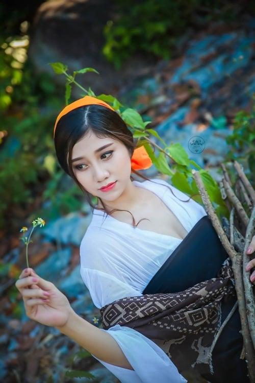 Ngắm 4 nữ sinh Việt xinh như thiên thần 15