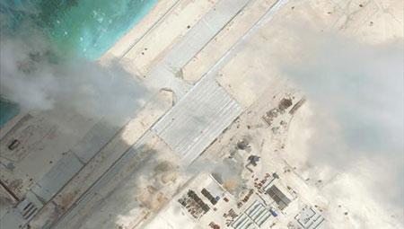 Chùm ảnh căn cứ 'giống quân sự' của Trung Quốc trên Biển Đông 3