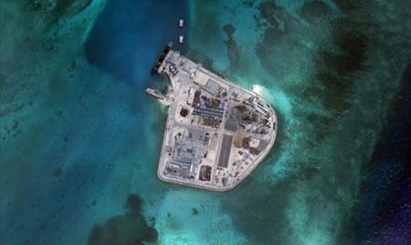Chùm ảnh căn cứ 'giống quân sự' của Trung Quốc trên Biển Đông 8