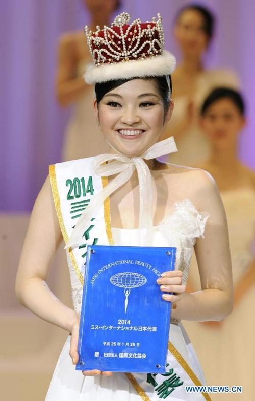 Nhan sắc xấu không ngờ của các Hoa hậu Nhật Bản 7