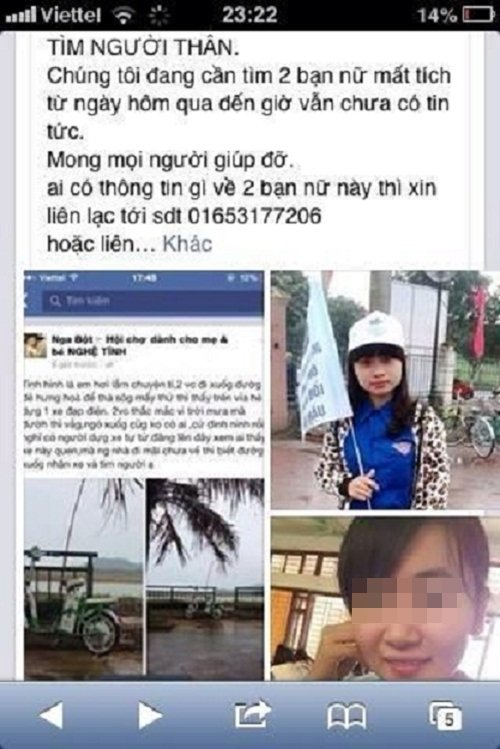 Ẩn ức sau cái chết của hai nữ sinh ngành Y trên dòng sông Lam 1