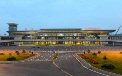 Cận cảnh nhà ga mới hào nhoáng nhưng đìu hiu của Triều Tiên 1