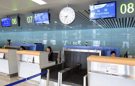 Cận cảnh nhà ga mới hào nhoáng nhưng đìu hiu của Triều Tiên 4