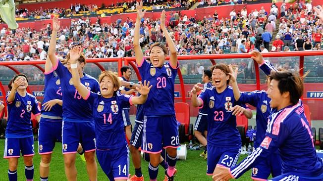 Thắng Anh, tuyển nữ Nhật Bản giành vé vào chung kết World Cup 2015 1