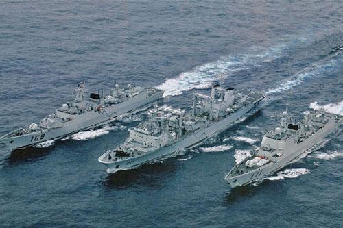 TQ tăng cường máy bay săn ngầm tuần tra vùng biển tranh chấp 3
