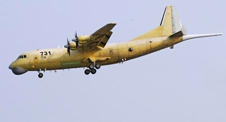 TQ tăng cường máy bay săn ngầm tuần tra vùng biển tranh chấp 1