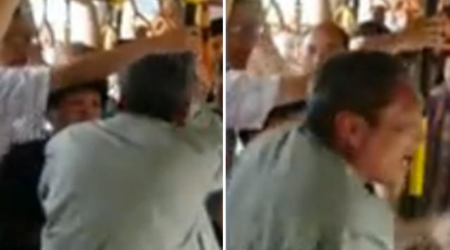 Video: Nữ hành khách tát tới tấp khiến kẻ móc túi xe buýt hoảng sợ 1