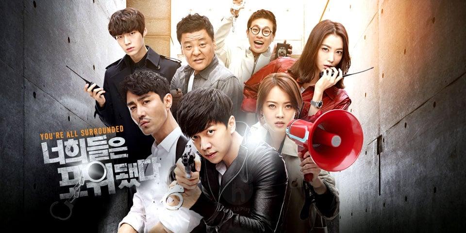 5 bộ phim hành động Hàn thu hút khán giả truyền hình 3