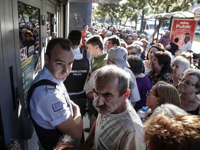 """Chặng đường đưa Hy Lạp trở thành quốc gia """"vỡ nợ""""  3"""