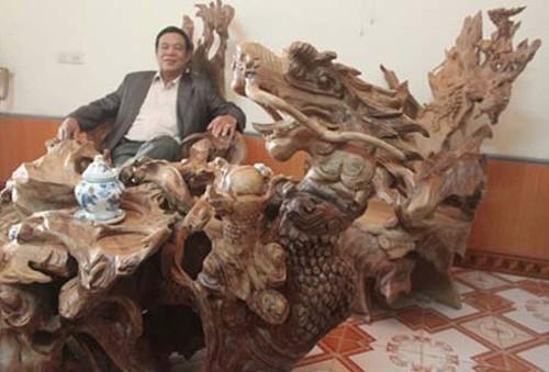 Choáng với thú chơi nội thất tiền tỷ của đại gia Việt 4