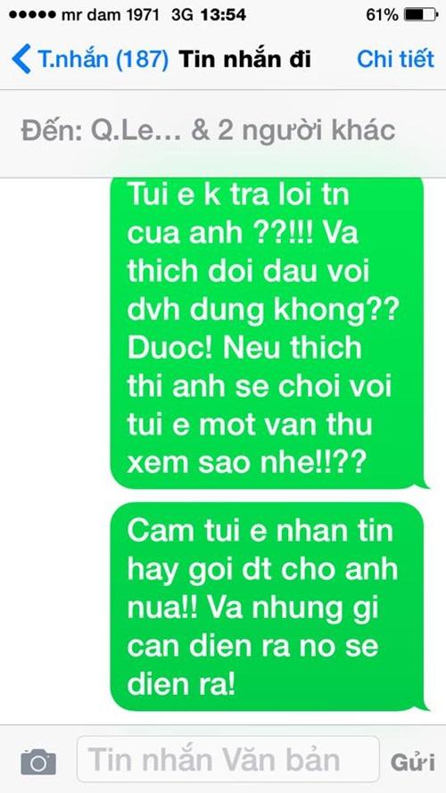 Đàm Vĩnh Hưng công bố tin nhắn mà Quang Lê cho là 'khủng khiếp' 4