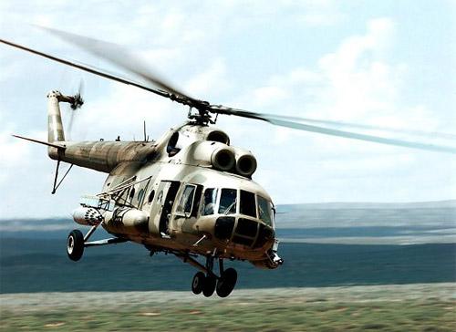 Trực thăng quân sự Mi-8 của Nga mất tích bí ẩn 1