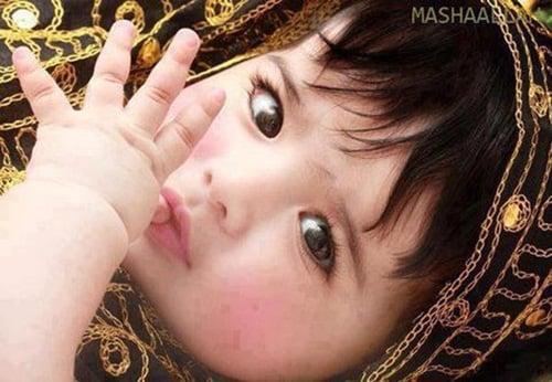 Lặng ngắm đôi mắt hút hồn của những thiên thần Ả Rập 3