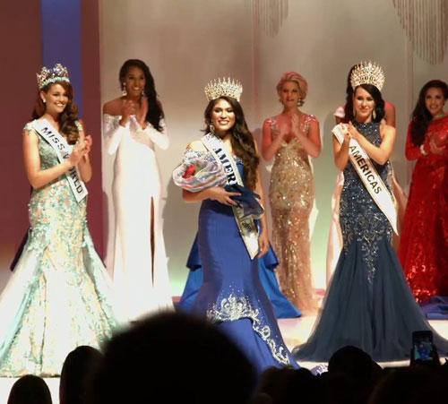 Người đẹp 19 tuổi đăng quang Hoa hậu Mỹ 2015 1