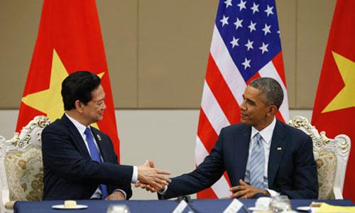 Những cột mốc lịch sử 20 năm quan hệ Việt-Mỹ 6