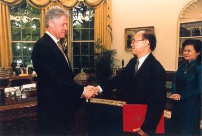 Những cột mốc lịch sử 20 năm quan hệ Việt-Mỹ 1