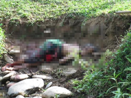 Hiện trường kinh hoàng vụ thảm sát 4 người trong một gia đình 5