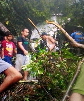 Rơi trực thăng ở Philippines, một tỷ phú thiệt mạng 1