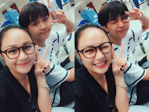Hình ảnh Facebook sao Việt: Tuấn Hưng giản dị đi từ thiện, Thu Minh khoe nhẫn siêu bự số 10