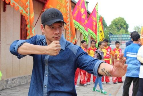 Hình ảnh Trương Quỳnh Anh hội ngộ Lý Hùng trong phim Thề không gục ngã số 3