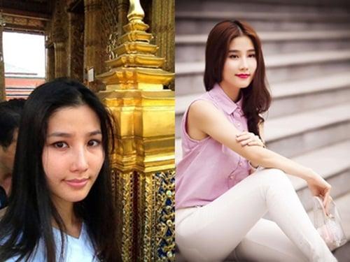 Khuôn mặt trước và sau trang điểm của dàn mỹ nhân Việt 7