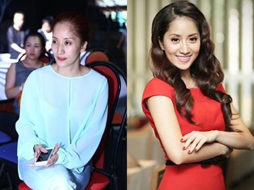 Khuôn mặt trước và sau trang điểm của dàn mỹ nhân Việt 3