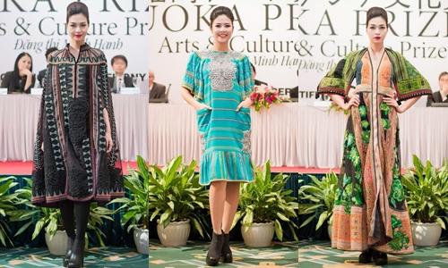 NTK Minh Hạnh nhận giải Nghệ thuật và Văn hóa của Nhật Bản 2015 3