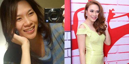 Khuôn mặt trước và sau trang điểm của dàn mỹ nhân Việt 6