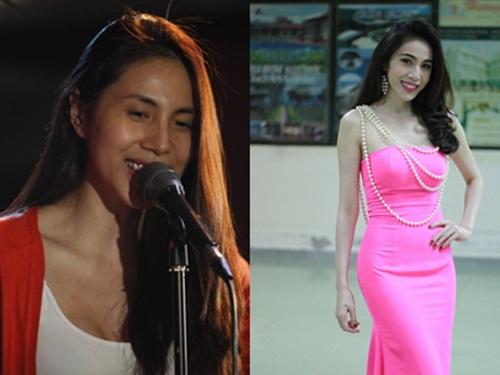 Hình ảnh Khuôn mặt trước và sau trang điểm của dàn mỹ nhân Việt số 2