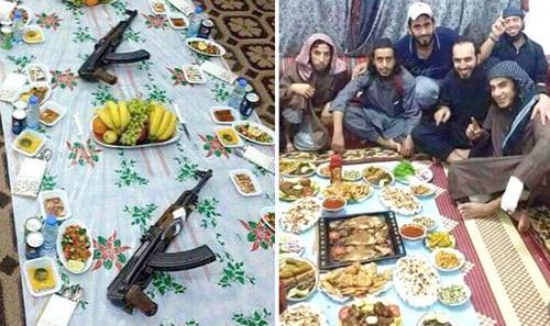 45 tay súng IS thiệt mạng vì ngộ độc thực phẩm 1