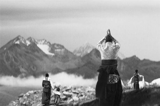 Chùm ảnh Phật tử hành hương đến Tây Tạng linh thiêng 12