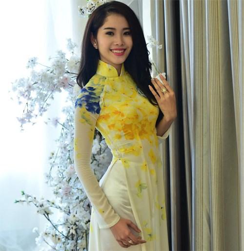 Hoa khôi Đồng bằng sông Cửu Long 2015 dự thi Hoa hậu Toàn cầu 2015 3
