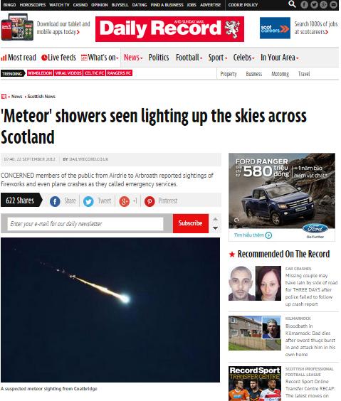 Vệt sáng trên trời gây tiếng nổ tại Hà Tĩnh: Đang xác minh thông tin 2
