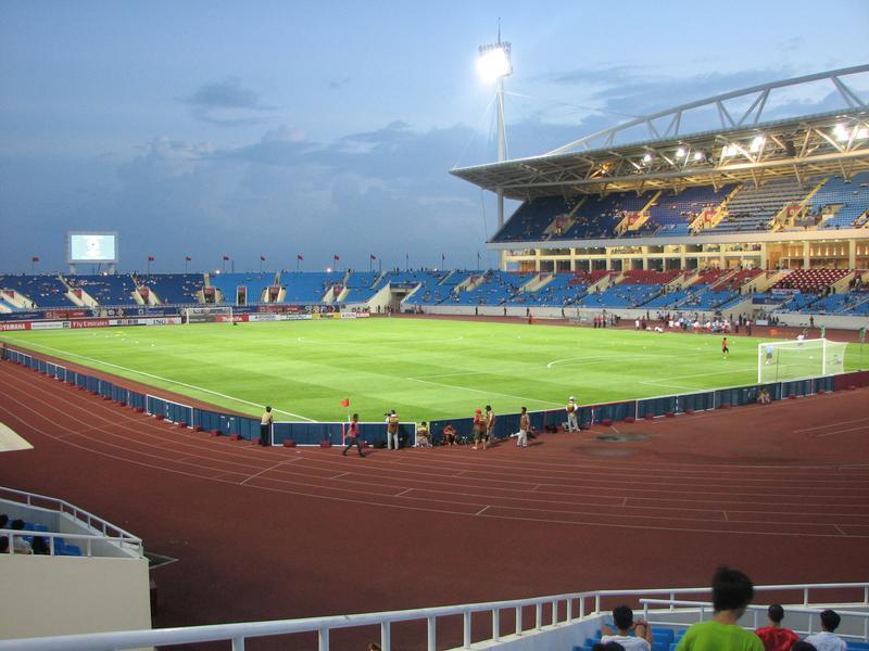 Trận ĐT Việt Nam - Man City: Chốt giá thuê sân Mỹ Đình 1