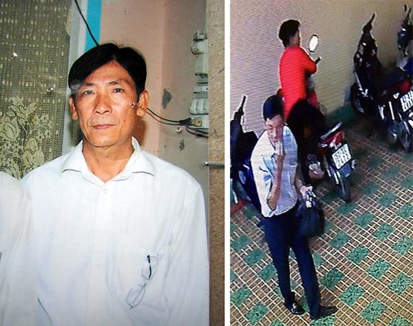 Nghi can sát hại người tình trong khách sạn bị camera ghi hình 1