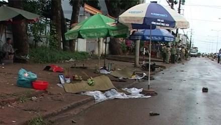 Truy tìm xe khách gây tai nạn khiến 3 người chết ở Bình Phước 1
