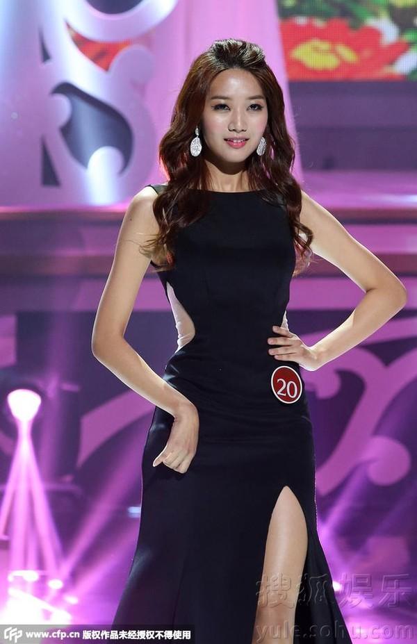 Tân Hoa hậu Hàn Quốc vừa đăng quang đã bị chê  1