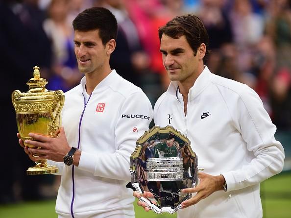 Hình ảnh Đánh bại Federer, Djokovic đăng quang ngôi vô địch tại Wimbledon số 1